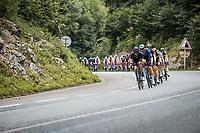 Casper Pedersen (DEN/DSM) in front of the peloton<br /> <br /> Stage 10 from Albertville to Valence (190.7km)<br /> 108th Tour de France 2021 (2.UWT)<br /> <br /> ©kramon