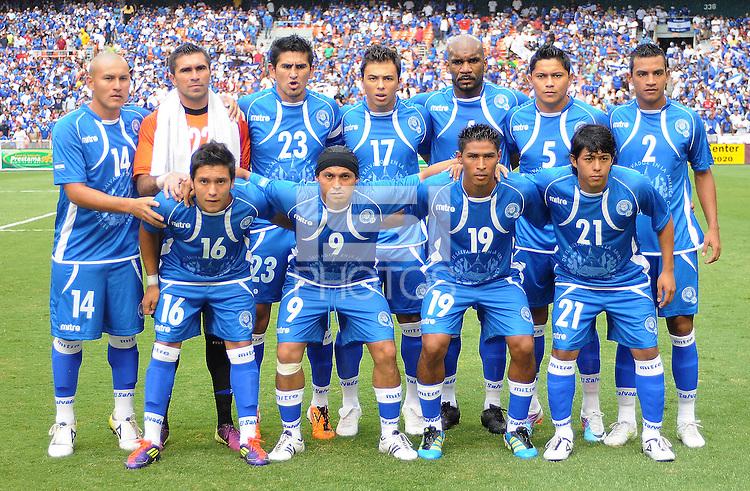 El Salvador starting eleven. El Salvador National Team defeated Venezuela 3-2 in an international friendly at RFK Stadium, Sunday August 7, 2011.