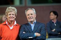 08-05-10, Tennis, Zoetermeer, Daviscup Nederland-Italie, Tom Okker and Betty Stove