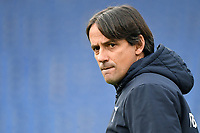 Simone Inzaghi coach of SS Lazio looks on during the Serie A football match between SS Lazio and ACF Fiorentina at Olimpico stadium in Roma (Italy), January 6th, 2021. Photo Andrea Staccioli / Insidefoto