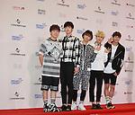 BOYS REPUBLIC, Jun 07, 2014 : K-pop boy band Boys Republic pose before the Dream Concert in Seoul, South Korea. (Photo by Lee Jae-Won/AFLO) (SOUTH KOREA)