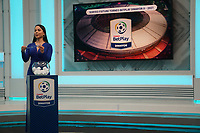 BOGOTA - COLOMBIA, 11-07-2021: Sorteo Partidos del Torneo BetPlay DIMAYOR II 2021 del fútbol profesional colombiano que se disputa entre 15 equipos de diferentes regiones del país. / Draw fo the matches of the BetPlay DIMAYOR tournament II 2021  in the Colombian professional soccer between 15 teams from different regions of the country. Photo: VizzorImage / Daniel Garzon / Cont