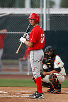 Randal Grichuk -  AZL Angels - 2009 Arizona League.Photo by:  Bill Mitchell/Four Seam Images