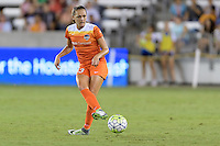 Houston, TX - Sunday Sept. 25, 2016: Cami Privett during a regular season National Women's Soccer League (NWSL) match between the Houston Dash and the Seattle Reign FC at BBVA Compass Stadium.