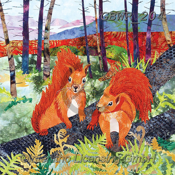 Simon, REALISTIC ANIMALS, REALISTISCHE TIERE, ANIMALES REALISTICOS, innovative, paintings+++++KateF_ScotsSquirrels,GBWR204,#a#, EVERYDAY, squirrel,squirrels