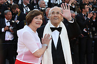 MACHA MERIL AND MICHEL LEGRAND - RED CARPET OF THE OPENING CEREMONY AND OF THE FILM 'LES FANTOMES D'ISMAEL' AT THE 70TH FESTIVAL OF CANNES 2017
