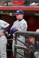 Jim Schlossnagle - 2009 Texas Christian Horned Frogs head coach.Photo by:  Bill Mitchell/Four Seam Images