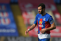 Luka Milivojević of Crystal Palace during the Premier League behind closed doors match between Crystal Palace and Fulham at Selhurst Park, London, England on 28 February 2021. Photo by Vince Mignott / PRiME Media Images.