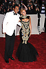"""Jay Z and Beyonce arriving at The Costume Institute Gala Benefit celebriting """"Alexander McQueen: Savage Beauty"""" at The Metropolitan Museum of Art in New York City on May 2, 2011."""