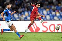 Kostas Manolas of SSC Napoli , Mohamed Salah of Liverpool <br /> Napoli 17-9-2019 Stadio San Paolo <br /> Football Champions League 2019/2020 <br /> SSC Napoli - Liverpool FC <br /> Photo Antonietta Baldassarre / Insidefoto