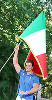 Roma 2008-07-07 Quirinale: Cerimonia di consegna dell Bandiera Italiana per i Giochi Olimpici.<br /> Nella foto Antonio Rossi<br /> Photo Serena Cremaschi Inside