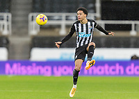 2nd February 2021; St James Park, Newcastle, Tyne and Wear, England; English Premier League Football, Newcastle United versus Crystal Palace; Jamal Lewis of Newcastle United
