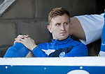 St Johnstone v Celtic…04.11.17…  McDiarmid Park…  SPFL<br />Liam Craig sits on the bench<br />Picture by Graeme Hart. <br />Copyright Perthshire Picture Agency<br />Tel: 01738 623350  Mobile: 07990 594431