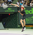 March 26 2018: Alexander Zverev (GER) defeats David Ferrer (ESP) by 2-6, 6-2, 6-4, at the Miami Open being played at Crandon Park Tennis Center in Miami, Key Biscayne, Florida. ©Karla Kinne/Tennisclix/CSM