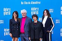 (L-R) Penelope Cruz, Pedro Almodovar, Julieta Serrano and Nora Navas attend the photocall of the movie 'Dolor y gloria' in Villa Magna Hotel, Madrid 12th March 2019. (ALTERPHOTOS/Alconada) /NortePhoto.con NORTEPHOTOMEXICO