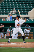 Lakeland Flying Tigers Kody Clemens (8) during a Florida State League game against the St. Lucie Mets on April 24, 2019 at Publix Field at Joker Marchant Stadium in Lakeland, Florida.  Lakeland defeated St. Lucie 10-4.  (Mike Janes/Four Seam Images)