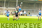 High fielding action from IT Tralee v Carlow IT in the Sigerson Cup R1 football game in Austin Stack Park on Sunday.