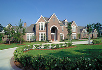 Upper income home, mansion. Houston Texas.