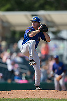 Missoula Osprey relief pitcher Casey Kulina (10) in action against the Billings Mustangs at Dehler Park on August 20, 2017 in Billings, Montana.  The Osprey defeated the Mustangs 6-4.  (Brian Westerholt/Four Seam Images)