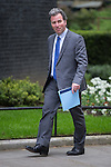 © Joel Goodman - 07973 332324 . 11/05/2015 . London , UK . OLIVER LETWIN arrives at 10 Downing Street this morning (11th May 2015) . Photo credit : Joel Goodman