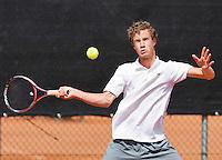 Netherlands, Rotterdam August 05, 2015, Tennis,  National Junior Championships, NJK, TV Victoria, Maikel Borg<br /> Photo: Tennisimages/Henk Koster