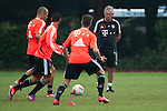 GUANGZHOU, GUANGDONG - JULY 26:  Head coach Jupp Heynckes of Bayern Munich during a training session ahead the friendly match against VfL Wolfsburg as part of the Audi Football Summit 2012 on July 26, 2012 at the Tianhe Sports Stadium in Guangzhou, China. Photo by Victor Fraile / The Power of Sport Images