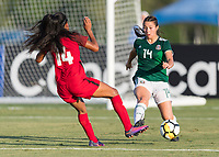 Bradenton, FL - Sunday, June 12, 2018: Nicole Soto during a U-17 Women's Championship Finals match between USA and Mexico at IMG Academy.  USA defeated Mexico 3-2 to win the championship.