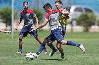 Rancagua, Chile - Thursday, January 29, 2015: USMNT Training in Rancagua.