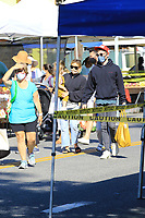 Hilary Duff Spotted With Her Family At The Studio City Farmers Market