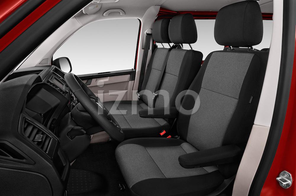 Front seat view of 2016 Volkswagen Transporter - 5 Door Passenger Van Front Seat  car photos