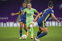 30th August 2020, San Sebastien, Spain;  Ewa Pajor of VfL Wolfsburg in action during the UEFA Womens Champions League football match Final between VfL Wolfsburg and Olympique Lyonnais.