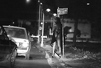 - Roma, prostituzione in zona Stazione Termini (Settembre 1989)<br />