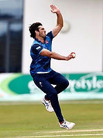 Grant Stewart bowls for Kent during Kent Spitfires vs Lancashire, Royal London One-Day Cup Cricket at The Kent County Cricket Ground on 28th July 2021