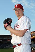 Feb 20, 2009; Clearwater, FL, USA; The Philadelphia Phillies pitcher Blaine Neal (53) during photoday at Bright House Field. Mandatory Credit: Tomasso De Rosa/ Four Seam Images
