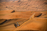 02 Walkner Matthias (aut), KTM, Red Bull KTM Factory Team, Moto, Bike, action during Stage 11 of the Dakar 2020  <br /> Rally Dakar <br /> 16/01/2020 <br /> Photo DPPI / Panoramic / Insidefoto