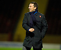 10/11/2010   Copyright  Pic : James Stewart.sct_jspa011_motherwell_v_st_johnstone  .:: DEREK MCINNES SHOW HIS FRUSTRATION    ::.James Stewart Photography 19 Carronlea Drive, Falkirk. FK2 8DN      Vat Reg No. 607 6932 25.Telephone      : +44 (0)1324 570291 .Mobile              : +44 (0)7721 416997.E-mail  :  jim@jspa.co.uk.If you require further information then contact Jim Stewart on any of the numbers above.........