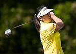 Amy Yang of South Korea in action during the Day 4 of the LPGA Sunrise Taiwan Championship on at Sunrise Golf Course on October 23, 2011 in Taoyuan, Taiwan. Photo by Victor Fraile / The Power of Sport Images