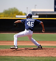 Carlos Guarate - San Diego Padres 2019 extended spring training (Bill Mitchell)