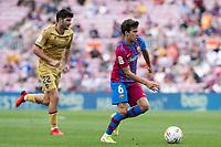 26th September 2021;   Nou Camp, Barcelona, Spain: La Liga football, FC Barcelona versus Levante: Riqui Puig Barcelona