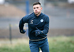 St Johnstone Training…..03.11.17<br />Michael O'Halloran pictured during training this morning at McDiarmid Park ahead of tomorrows game against Celtic<br />Picture by Graeme Hart.<br />Copyright Perthshire Picture Agency<br />Tel: 01738 623350  Mobile: 07990 594431