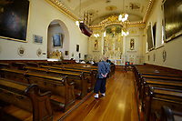 Quebec (QC) CANADA - Sept 5 2009 - - Eglise Notre-Dame des Victoires church