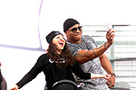 Dallas, TX - April 5, 2014 LL Cool J performing at the NCAA March Madness in Dallas,Texas.  Photo credit: Elgin Edmonds/ Presswire News