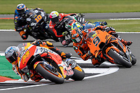 28th August 2021; Silverstone Circuit, Silverstone, Northamptonshire, England; MotoGP British Grand Prix, Qualifying Day;Tech3 KTM Factory Racing rider Danilo Petrucci on his KTM RC16