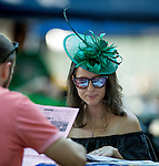 SARATOGA SPRINGS, NY - AUGUST 27: Scenes from around the track on Travers Stakes Day at Saratoga Race Course on August 27, 2016 in Saratoga Springs, New York. (Photo by Scott Serio/Eclipse Sportswire/Getty Images)