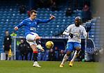 13.02.2021 Rangers v Kilmarnock: Ryan Jack scores for Rangers