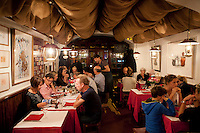 Restaurant La Merenda, Nice, France, 16 October 2013