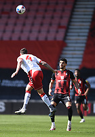 2nd April 2021; Vitality Stadium, Bournemouth, Dorset, England; English Football League Championship Football, Bournemouth Athletic versus Middlesbrough; Grant Hall of Middlesbrough heads the ball back down field