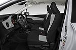 Front seat view of a 2018 Toyota Yaris L 3-Door Liftback 3 Door Hatchback front seat car photos