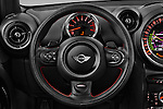 Car pictures of steering wheel view of a 2016 MINI Countryman Cooper-S 5 Door Hatchback Steering Wheel