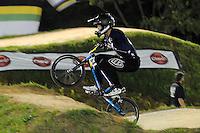 MEDELLIN- COLOMBIA -29-05-2016: Nicolas Long (USA) durante su participación en la categoría elite hombres en el marco del Campeonato Mundial de BMX 2016 que se realiza entre el 25 y el 29 de mayo de 2016 en la ciudad de Medellín. / Nicolas Long (USA) during her performance in the men elite's categories as part of the 2016 BMX World Championships to be held between 25 and 29 May 2016 in the city of Medellin. Photo: VizzorImage / Cristian Alvarez / CONT